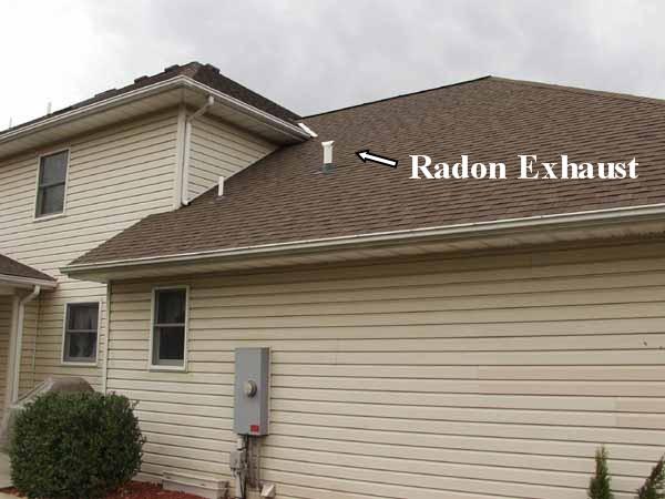 Radon Mitigation Photos Of Radon Remediation System Installation In Lehigh  Valley PA Showing Radon Mitigation Service